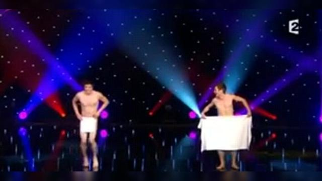 Танец голых ягодиц