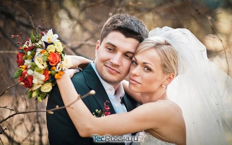 свадьба с первым мужем Антоном Покрепой