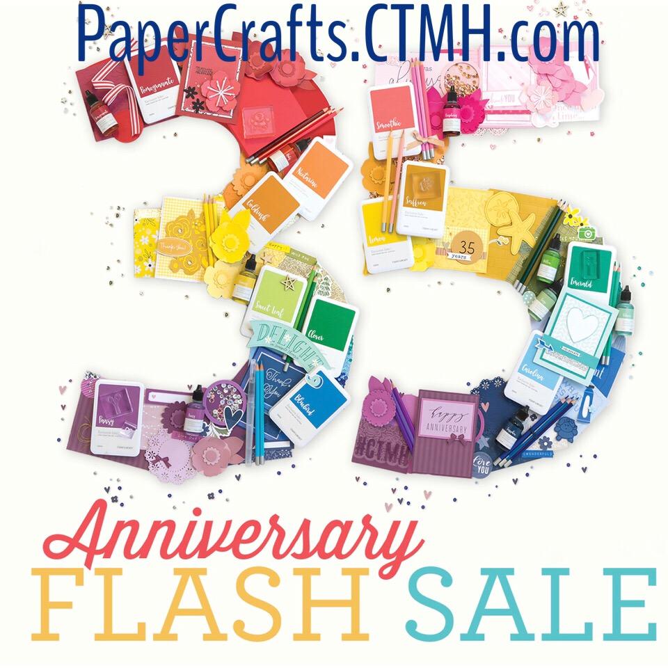 35th Anniversary Flash Sale