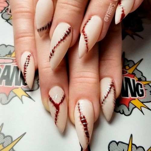 Nails design for halloween