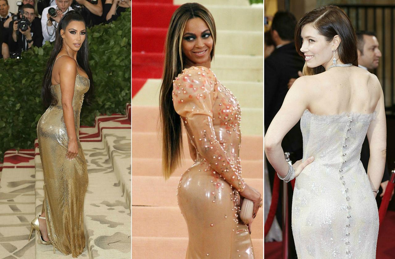 Celebrities butts