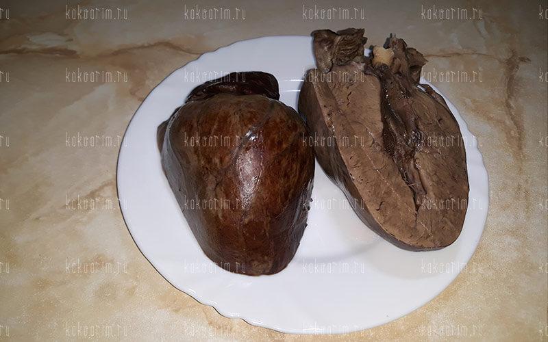 Фото 10 как варить свиное сердце