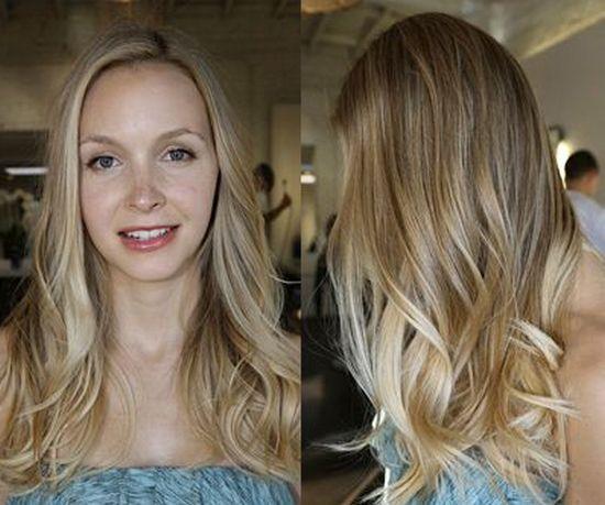 Волосы эффект выгоревших волос