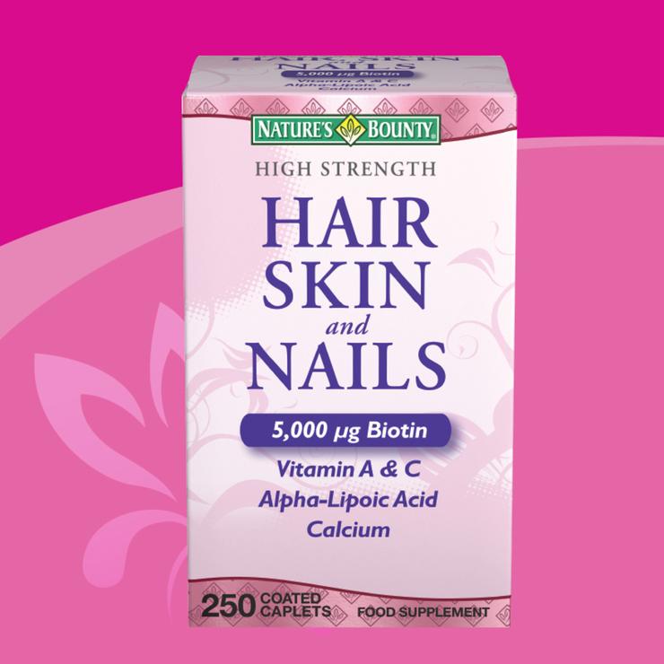 Hair nails and skin vitamins costco