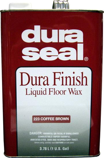 Duraseal coffee liquid wax