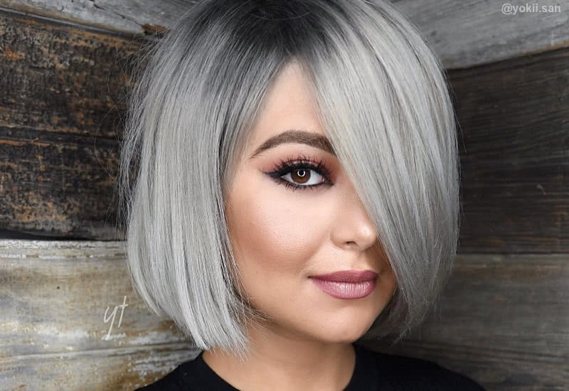 Celebrities with silver hair