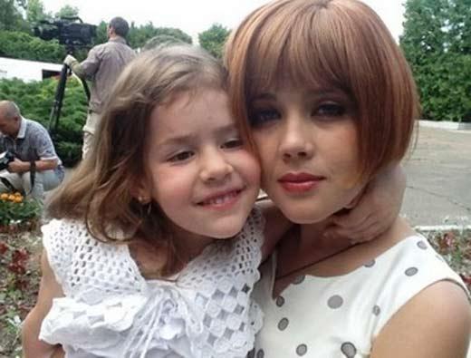 Людмила Свитова с дочерью Полиной