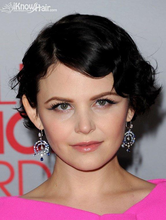 Short hairstyles celebrities 2012