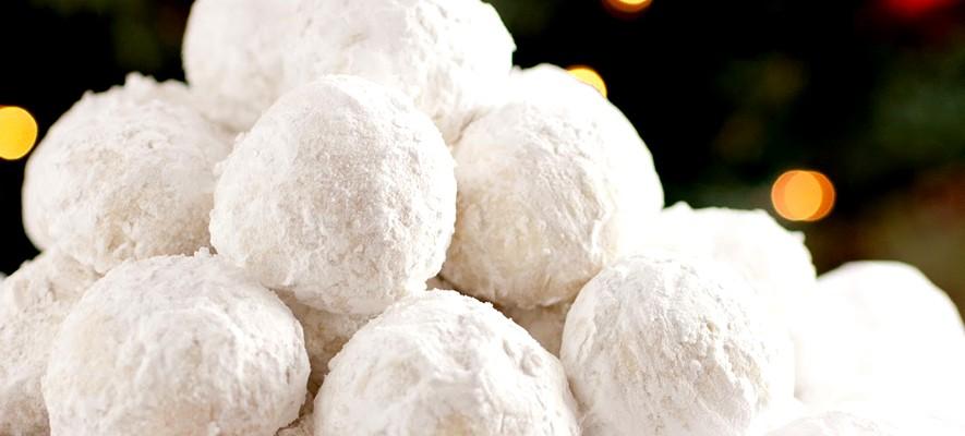 Рецепт печенье снежок