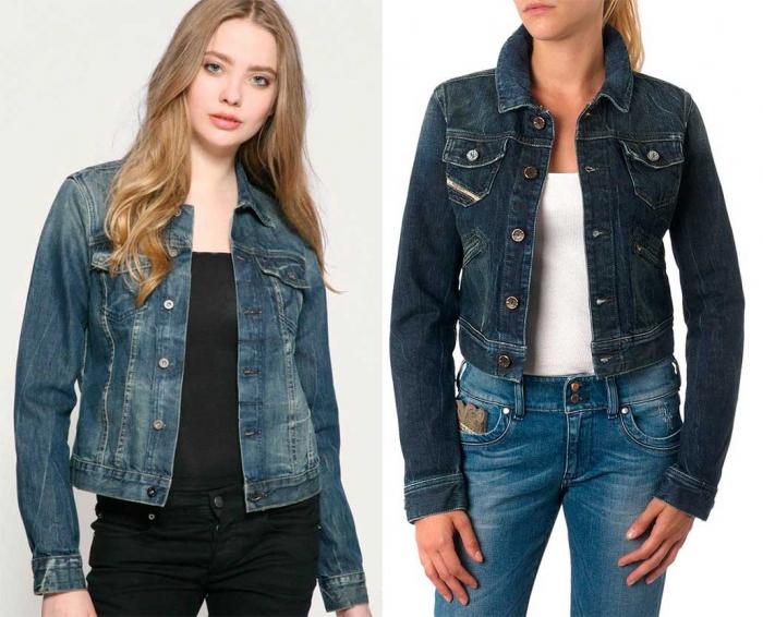 Женские джинсовые куртки 2017 фото