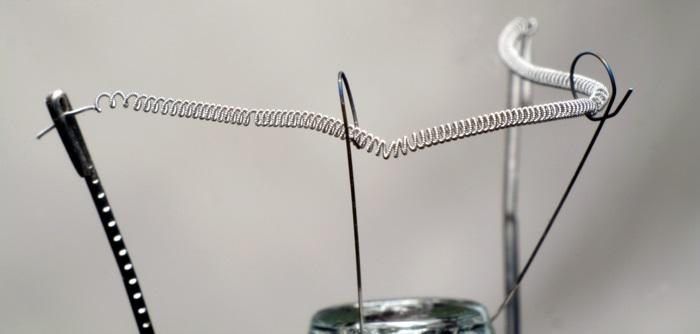 Схема строение лампы накаливания