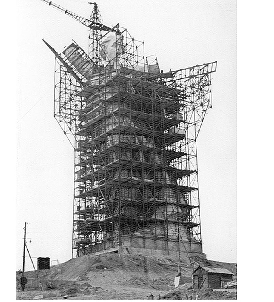 Высота памятника родина мать в волгограде