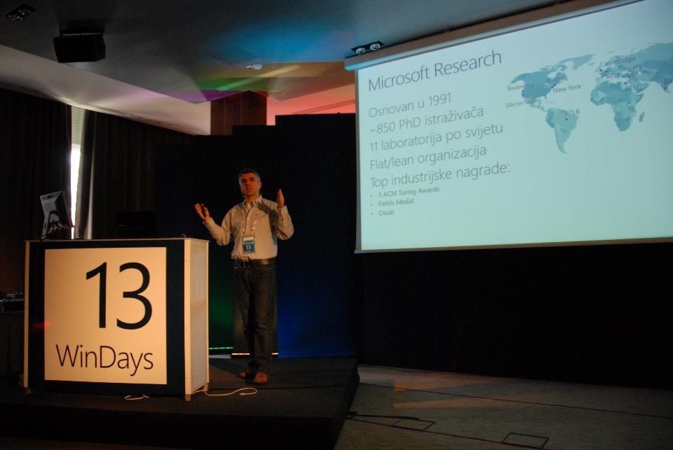 WinDays 13 session by Hrvoje Benko from Microsoft Research