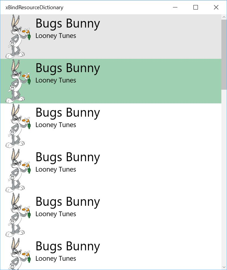 App runs, compiled bindings work