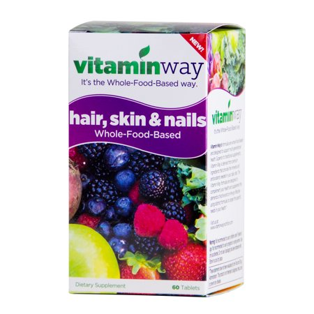 Hair skin and nails vitamins review walmart