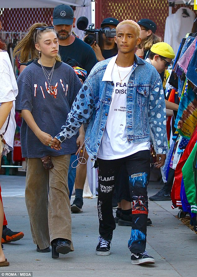 Who is jaden smith girlfriend right now