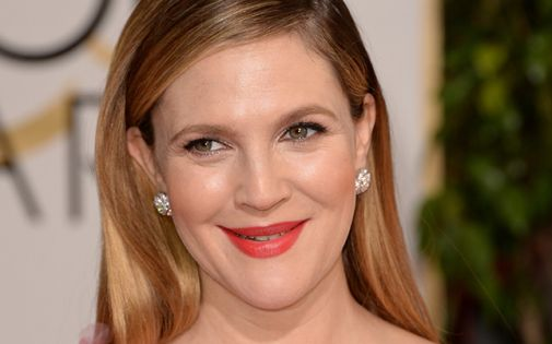 Drew barrymore golden globes