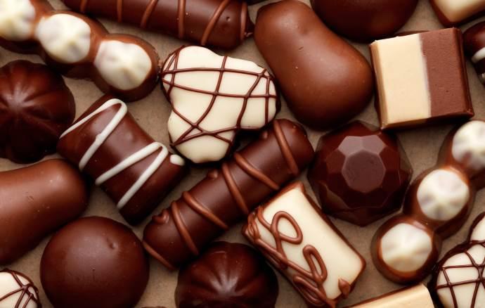 Сколько калорий в конфетах