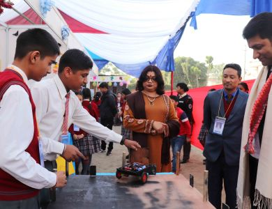 Vocational Model Exhibitions of First PTC Day