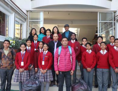 Students Extend a Helping Hand to the Needy