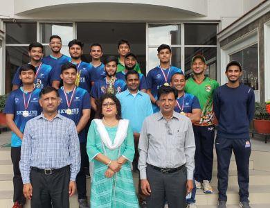 DAV Cricket Team Honoured