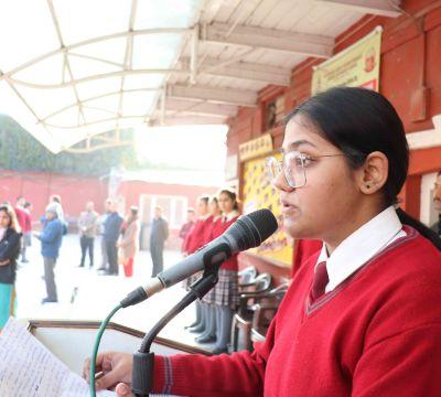 Student's Blog (Assembly Speech)
