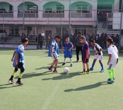 Mt. Dhaulagiri House 'B' Won Inter-house Futsal Tournament of Grade IV