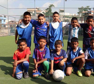 Mt. Lhotse House 'A' Won Inter-house Futsal Tournament