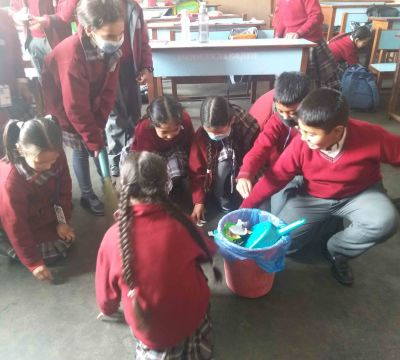 Classroom Cleaning Programme, February 20