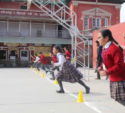 'Run, Solve and Win' for Grade V and VI Students
