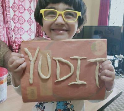 Play Dough Activity of DAV Kindergarten