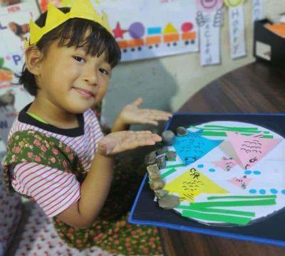 Origami Activity of DAV Kindergarten