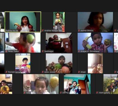 World Environment Day Celebration of DAV Kindergarten