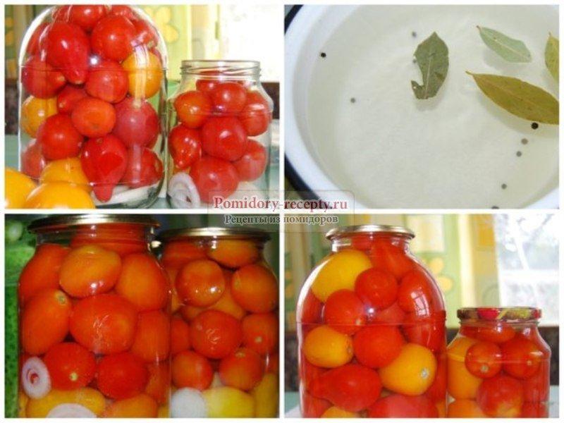 Консервировать помидоры черри на зиму без уксуса