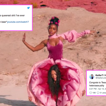 Lesbian pink video