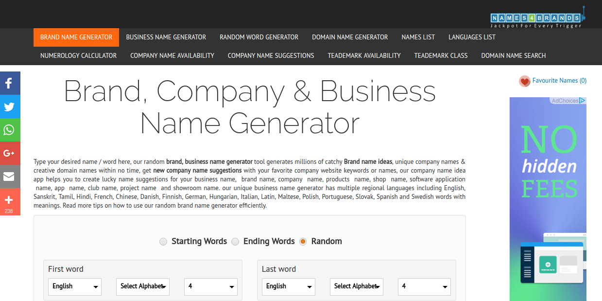 Names 4 Brands