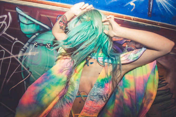 Rainbow Velvet Dancer