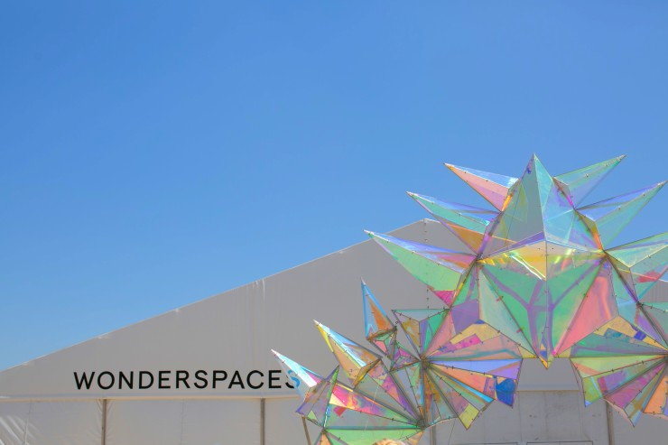 Wonderspaces San Diego Pop Up Art Gallery.