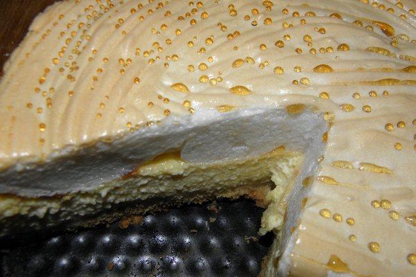 Торт-пирог «Слезы ангела» с творогом