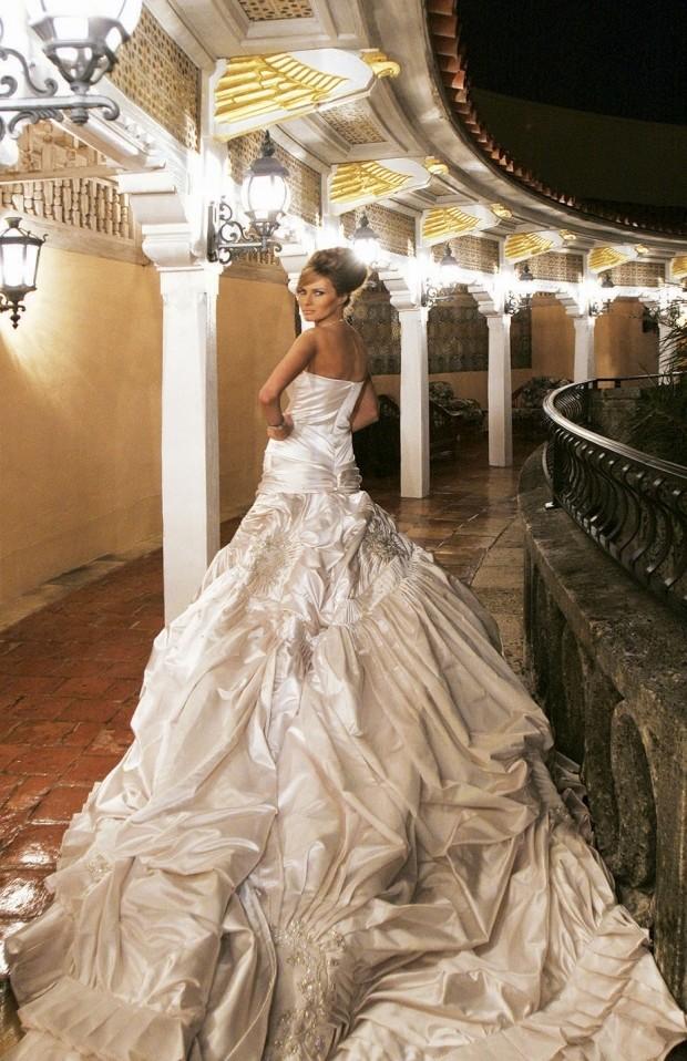 Мелании трамп свадебное платье
