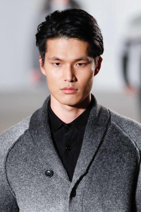 6. classic Short Textured Korean Hairstyle