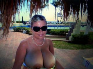 Nude exhibitionist wife