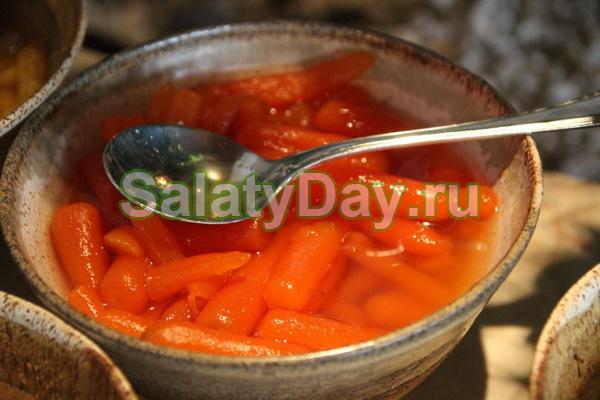 Салат «Сладкая морковь»