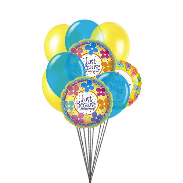 special for you (3 Latex & 3 Mylar Balloons)