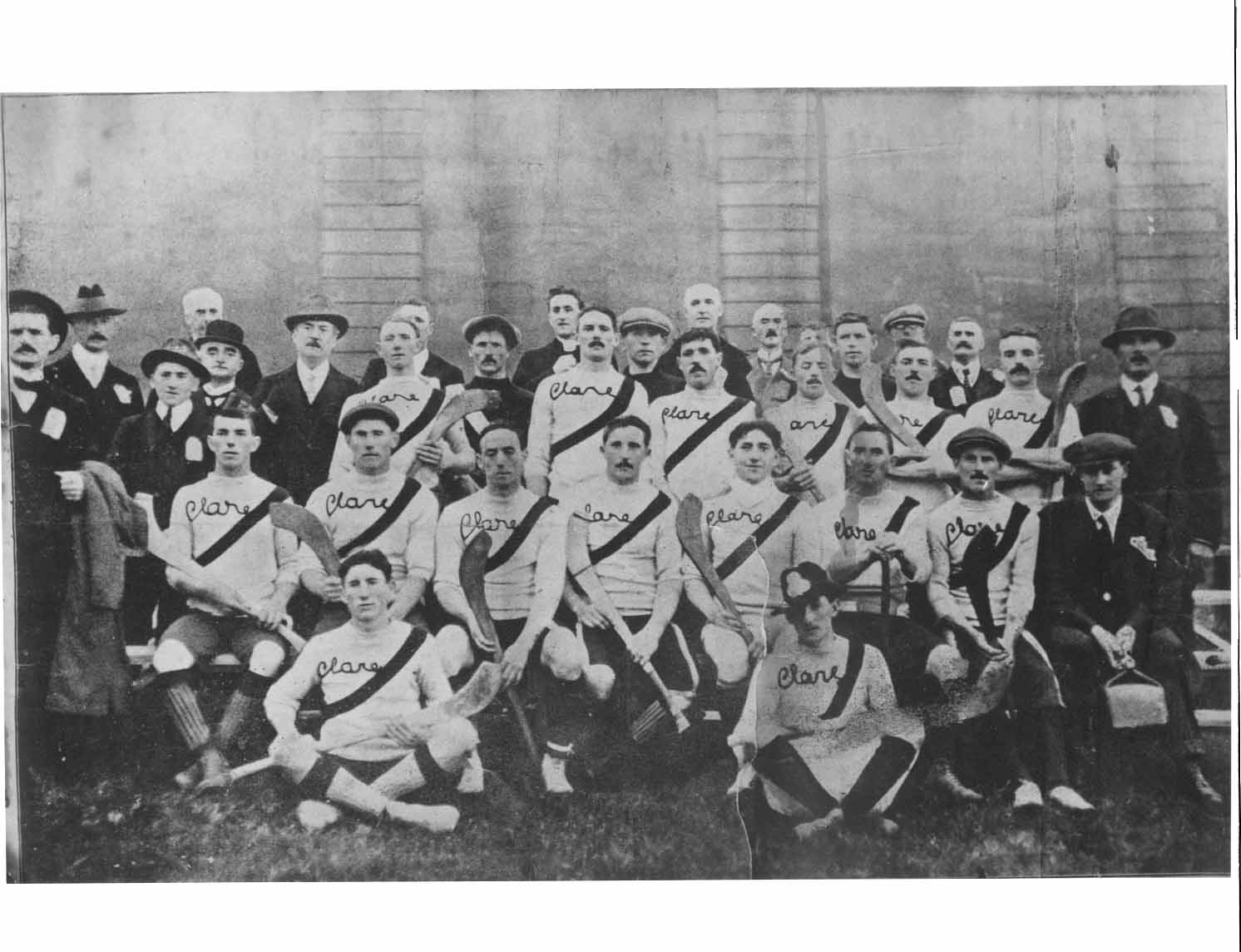 Clare (Quin) 1914 Hurling All-Ireland Champions
