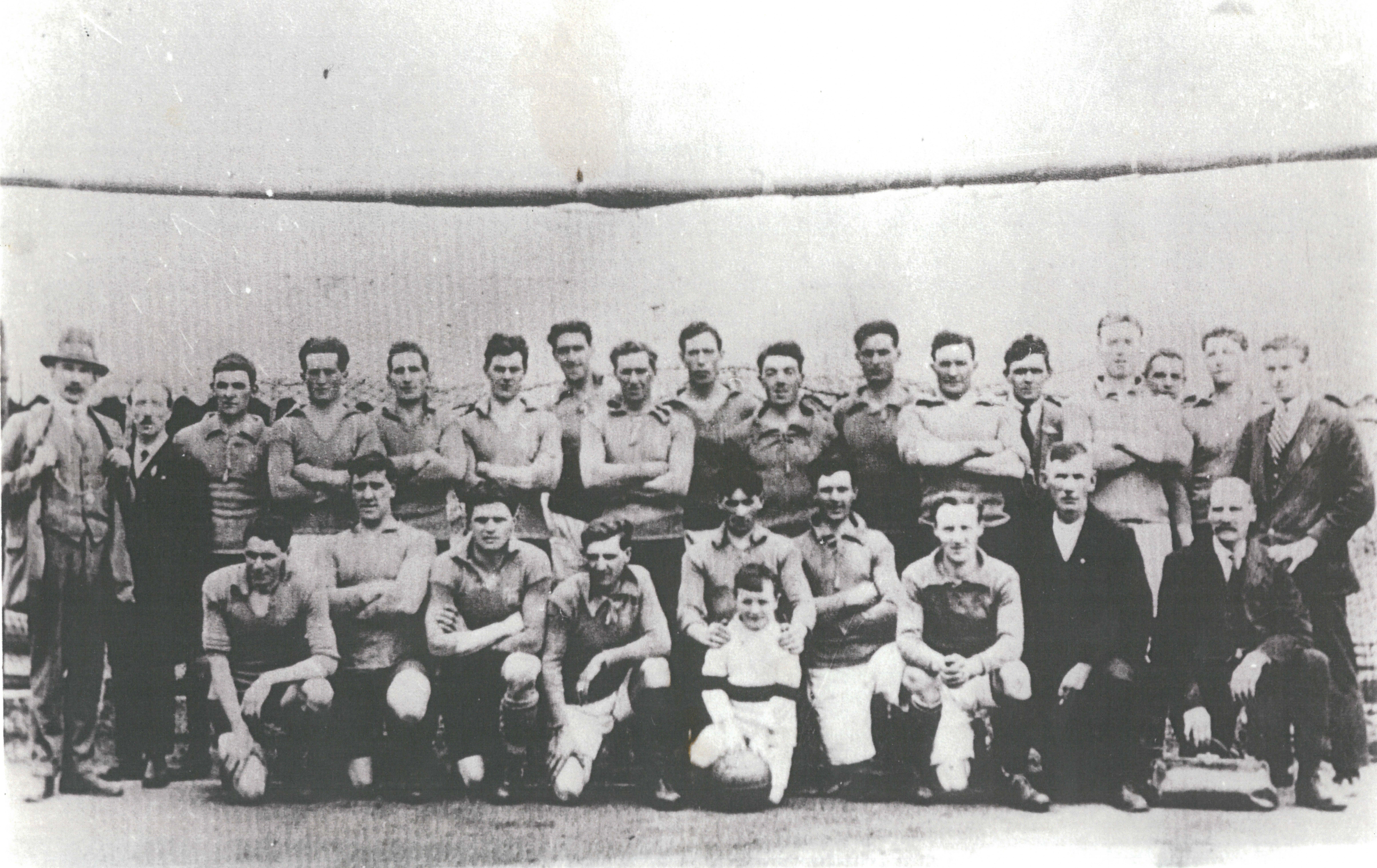Dublin (St Mary's) 1921 Football All-Ireland Champions