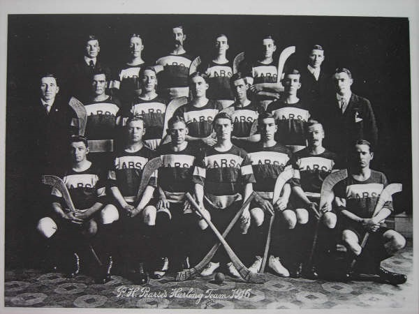 1916 PH Pearses Hurling Team, San Francisco