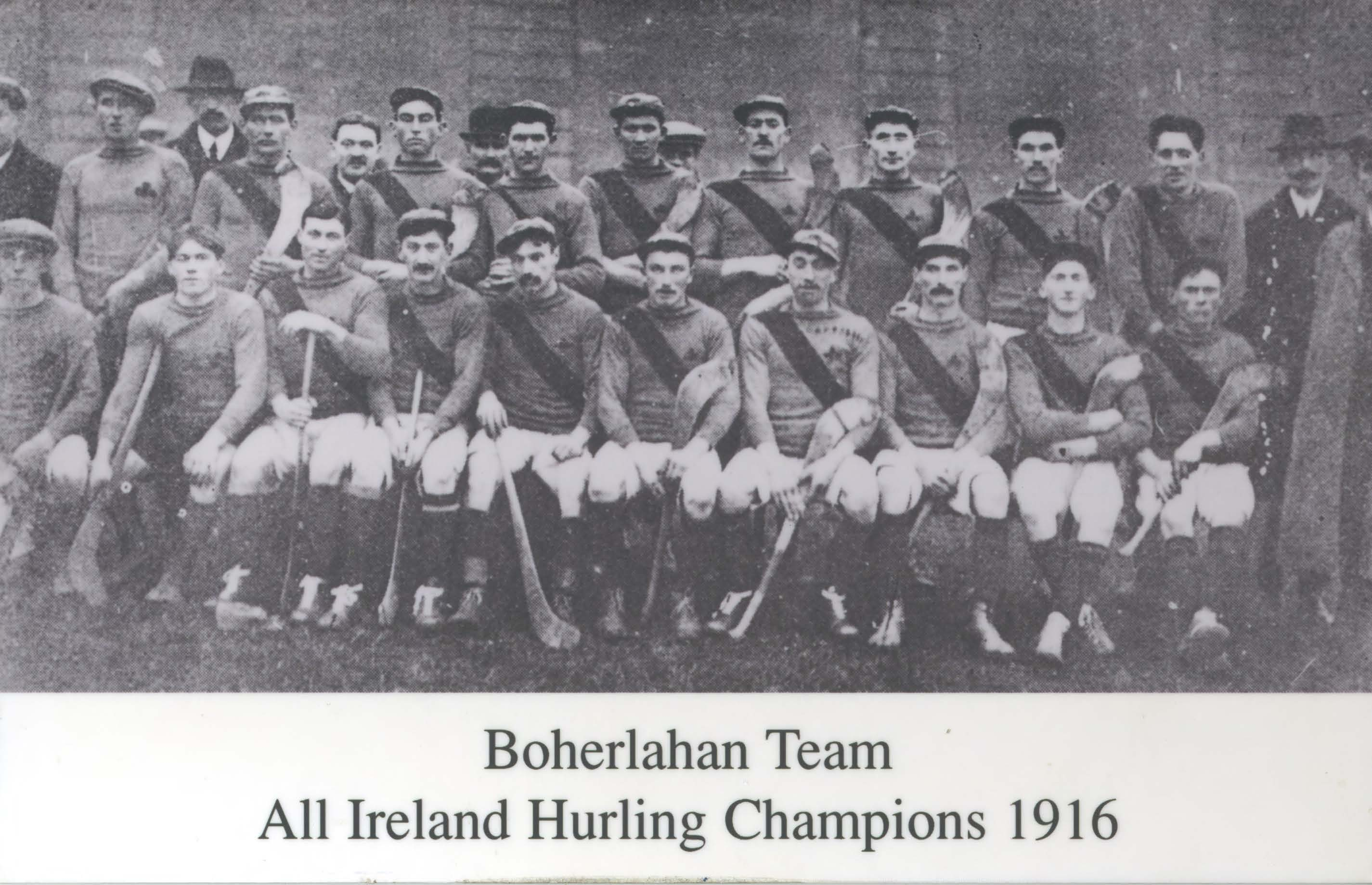 Tipperary (Boherlahan) 1916 Hurling All-Ireland Champions