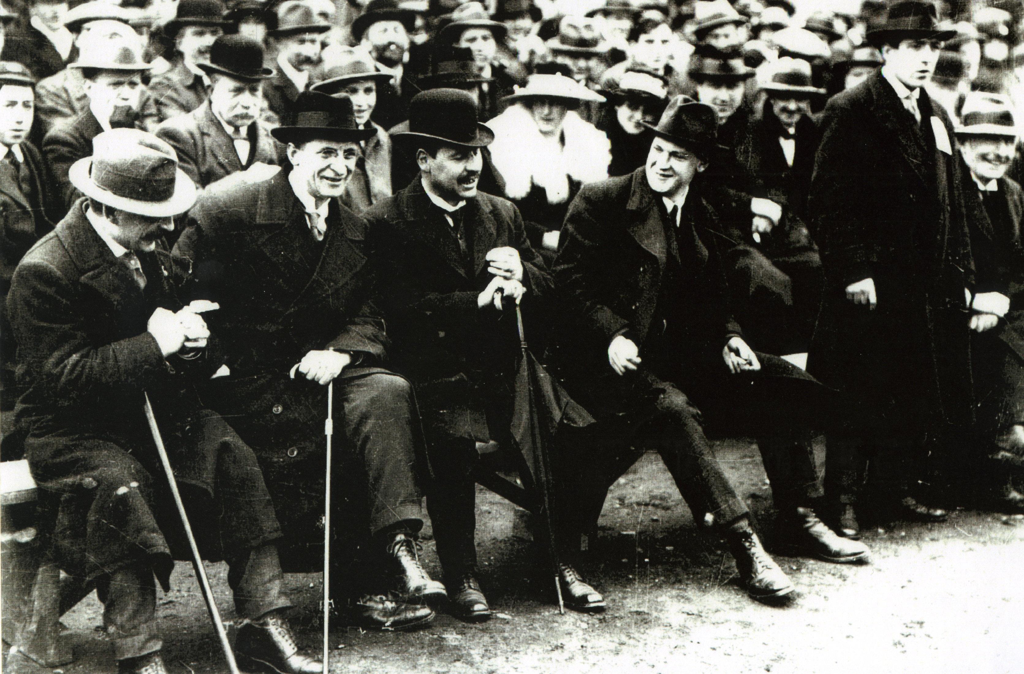 Republican Dignitaries at Croke Park, 1919