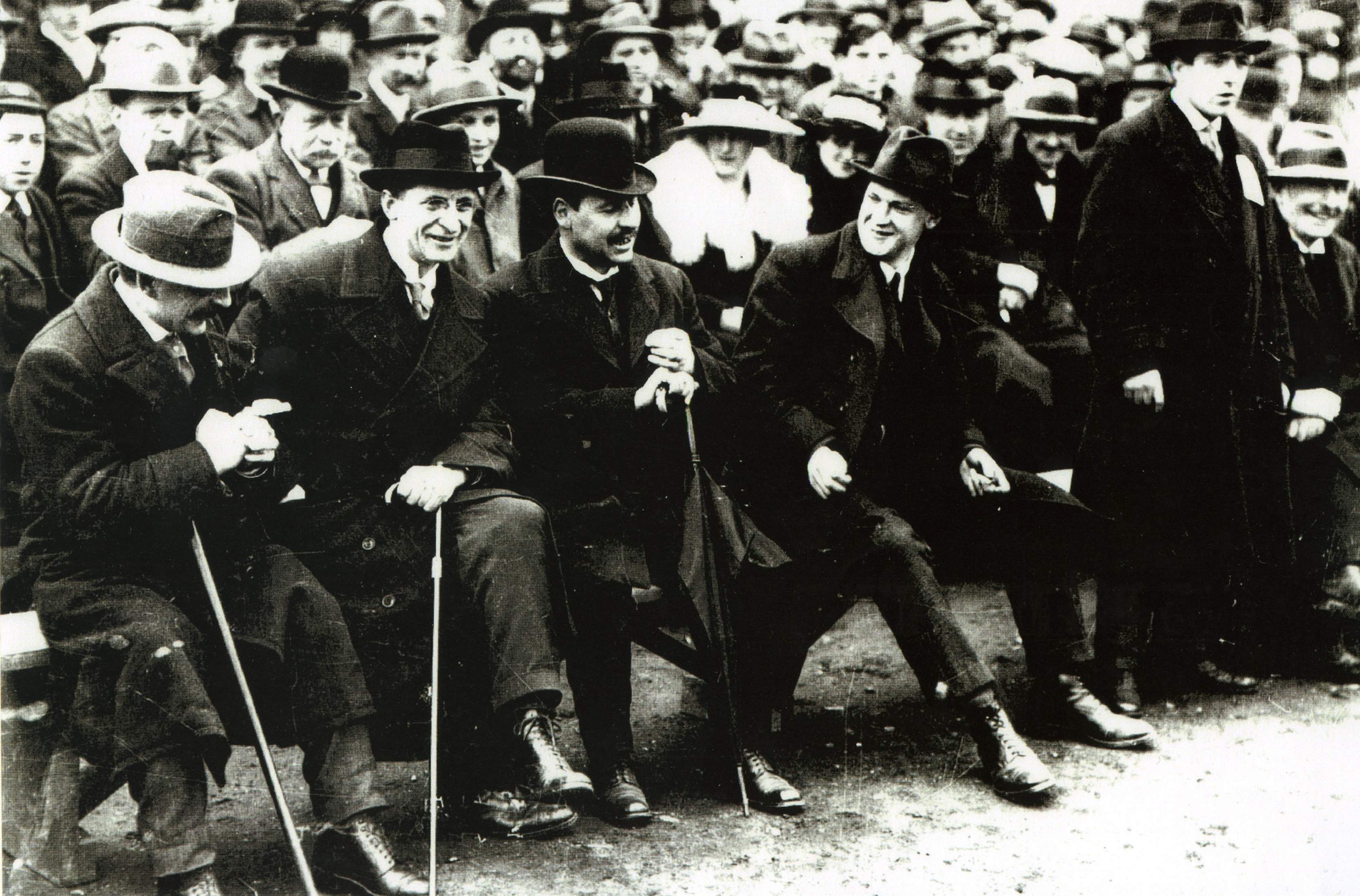 Republican Dignitaries at Croke Park, 1919